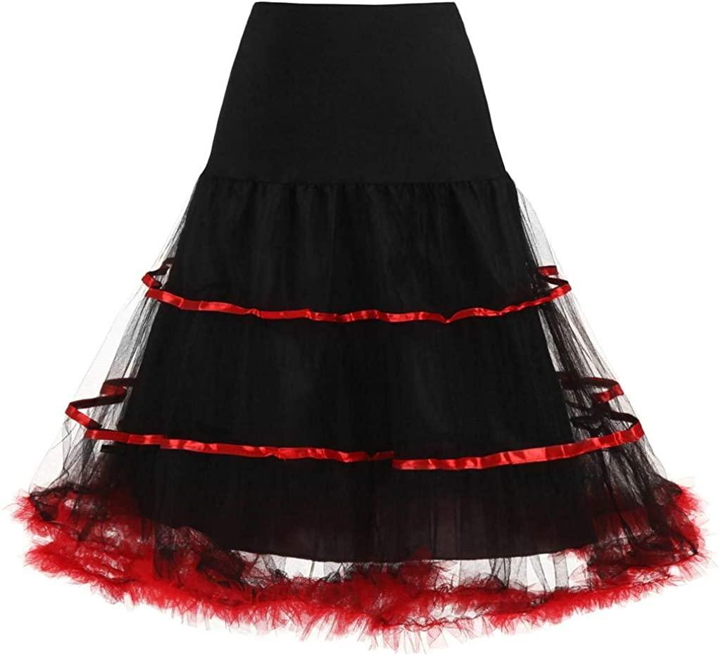 Women Pleated Tulle Mesh High Waist Skirt Fashion Adult Tutu Dancing Midi Skirts