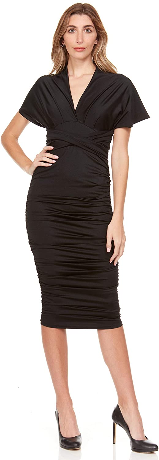 Inner Beauty Convertible Dress for Women – Ladies Midi Wrap Cocktail Dress