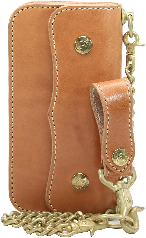 KC,s Leather RIDER'S WALLET HOTROD COWHIDE Handmade In Japan