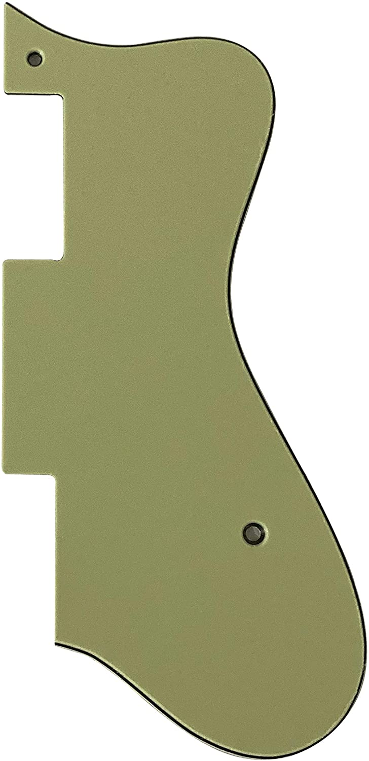 For Epiphone Dot Style Guitar Pickguard Scratch Plate (3 Ply Vintage Green)