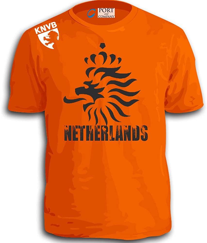 Stryker Netherlands Soccer Team Shirt Adult Orange Knvb