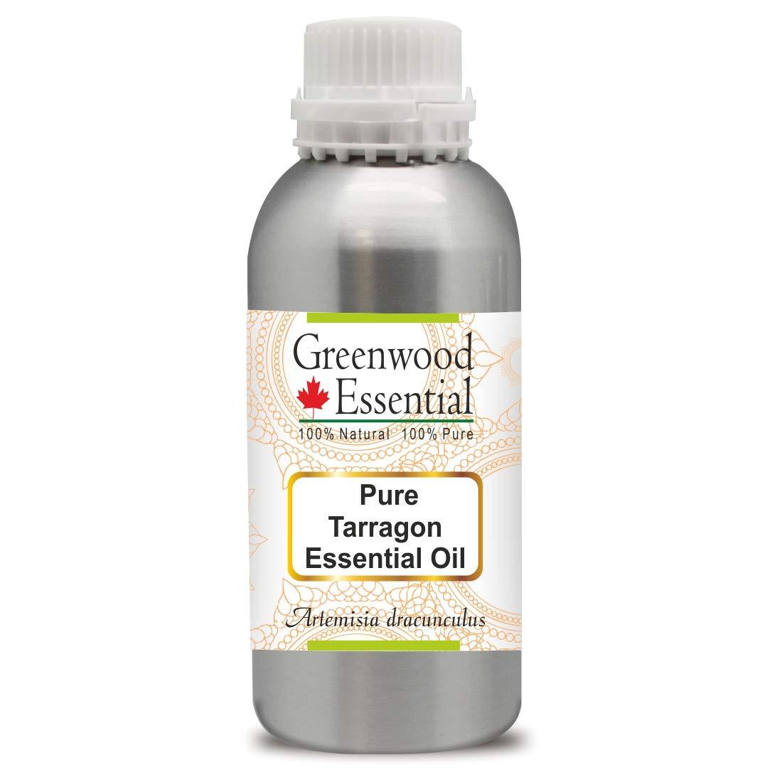 Greenwood Essential Tarragon Essential Oil (Artemisia dracunculus) 100% Natural Therapeutic Grade Steam Distilled 1250ml (42.2 oz)