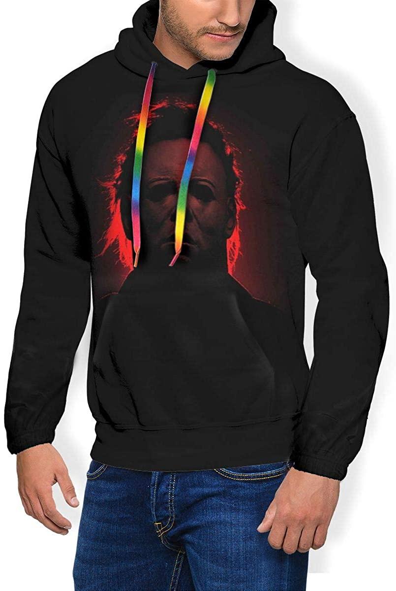 Owen Wilkins Men's Hoodies Mi-Chael My-ers 3D Print Pullover Hooded Sweatshirts for Youth/Men