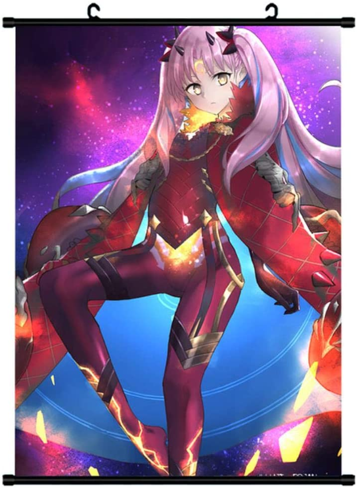 Fate Grand Order Anime Scroll Paintings Cartoon Characters Hanging Poster Home Decor Wall Poster Painting