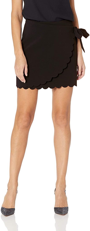 LIKELY Women's Mila Scallop Hem Wrap Skirt
