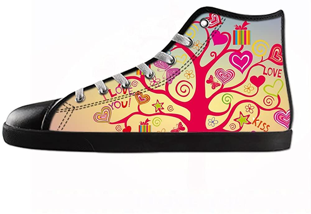Daniel Turnai Fan Customized Love Top Canvas Sneaker Shoes for Men