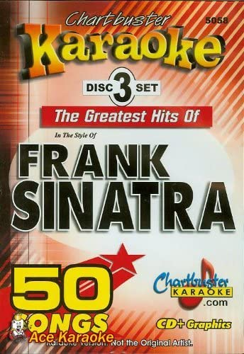Chartbuster Karaoke CDG CB5058 The Greatest Hits of Frank Sinatra
