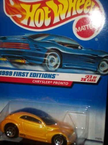 Hot Wheels 1999 First Editions #23 Chrysler Pronto #928 Scale 1:64