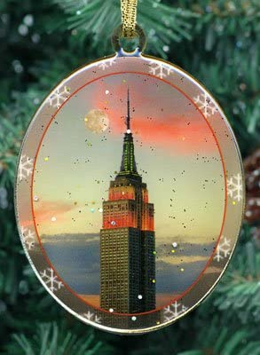 New York City Christmas Ornament - Empire State Building