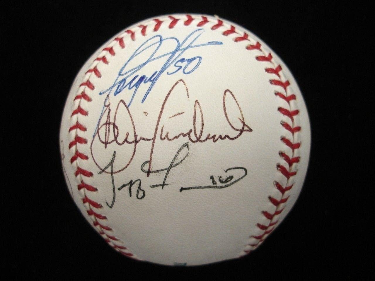 2006 Orioles Autographed Baseball - 10 Signatures - B&E Hologram - Autographed Baseballs