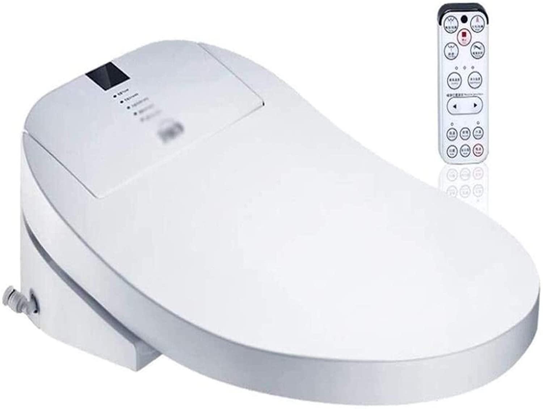 LSYC Durable Intelligent Toilet Seats Bidet Smart Lid/Heating Automatic Lid/Home Remote Control Lid/White Bath Lid,38cm-15cm-51cm 1102