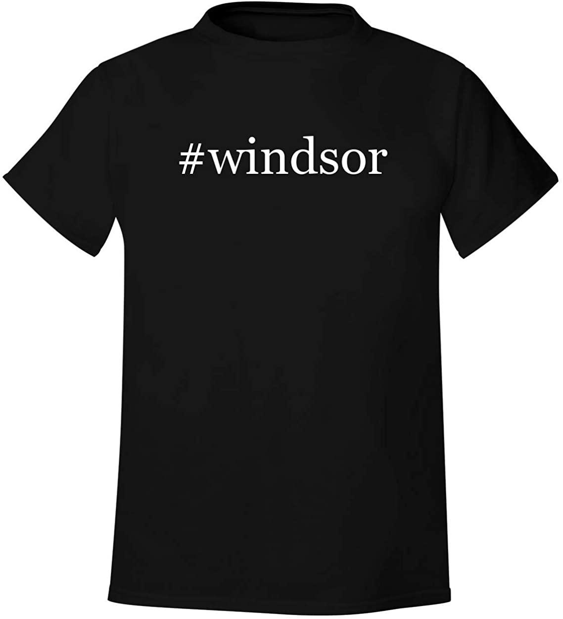 #windsor - Men's Hashtag Soft & Comfortable T-Shirt