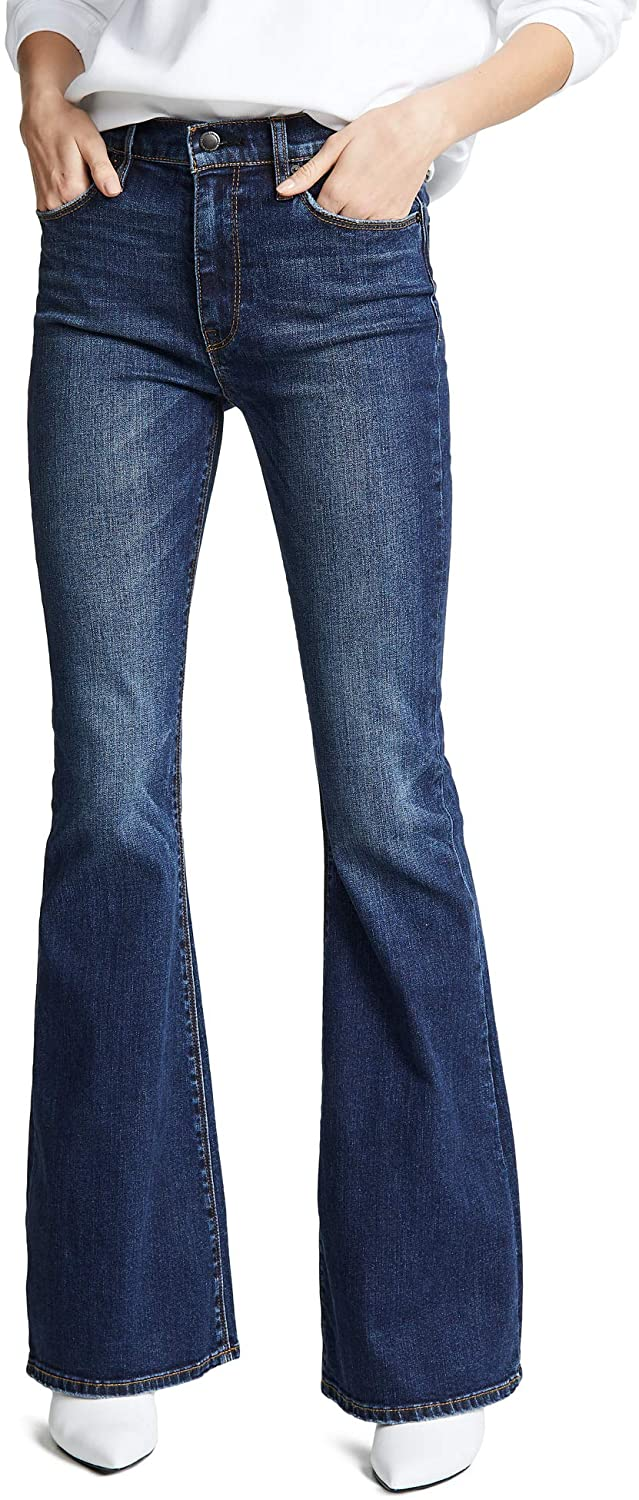 HUDSON Women's Holly High Rise Flare Leg Jean