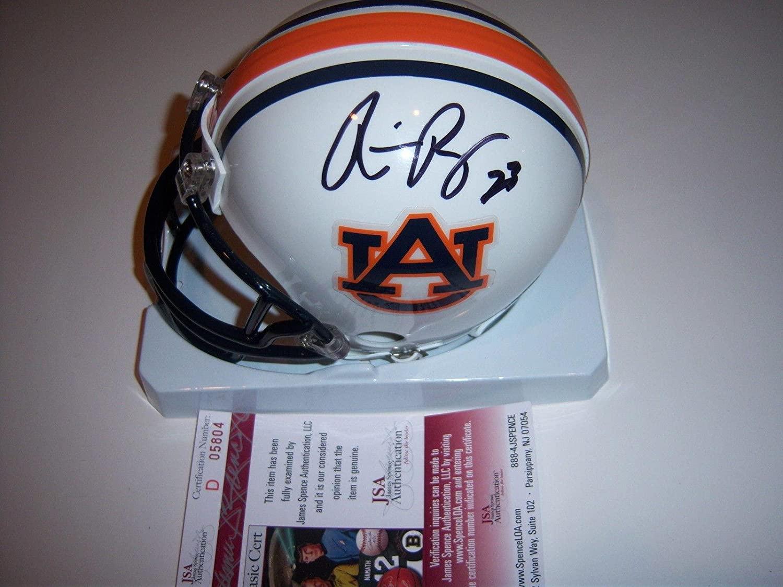 Ronnie Brown Auburn,miami Jsa/coa Signed Mini Helmet - Autographed College Mini Helmets