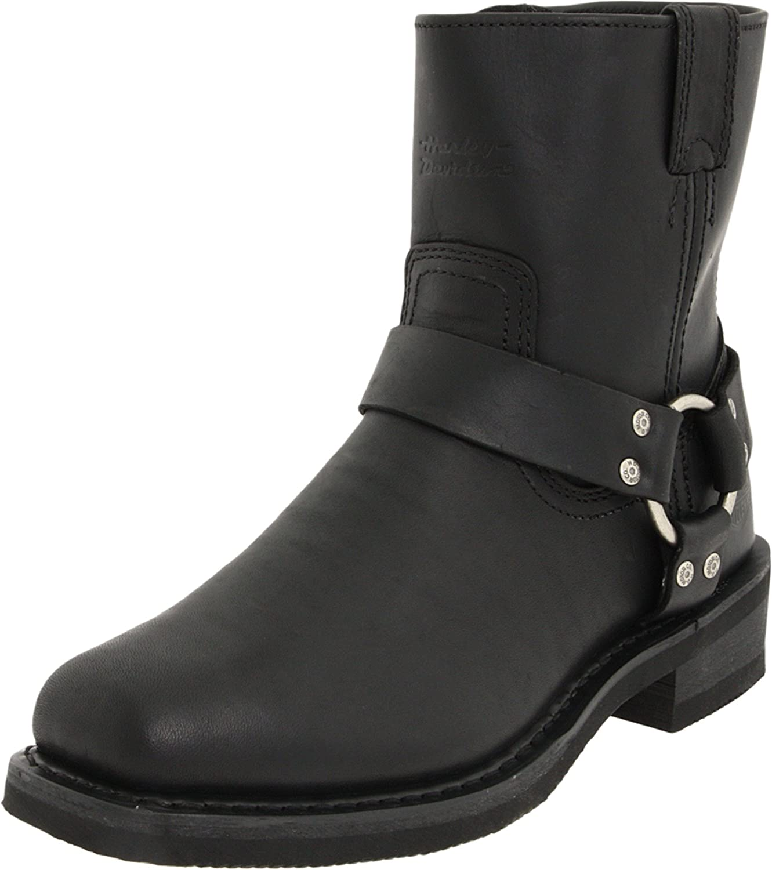 Harley-Davidson Men's El Paso Riding Boot,Black,11.5 M