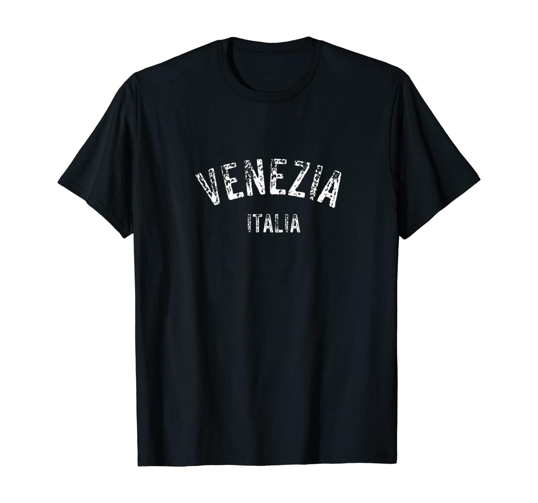 Venice Italy Venezia Italia Distressed Travel Souvenir Gift T-Shirt