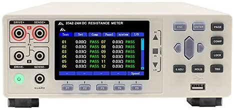 CHT3542-24H Multi-channel DC Resistance Tester Display 24 Channels Resistance