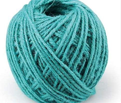 Jute String Turquoise (60m), Efco, Juta Lyse Sisal, Floristry, Hobby Colors, Decoupage