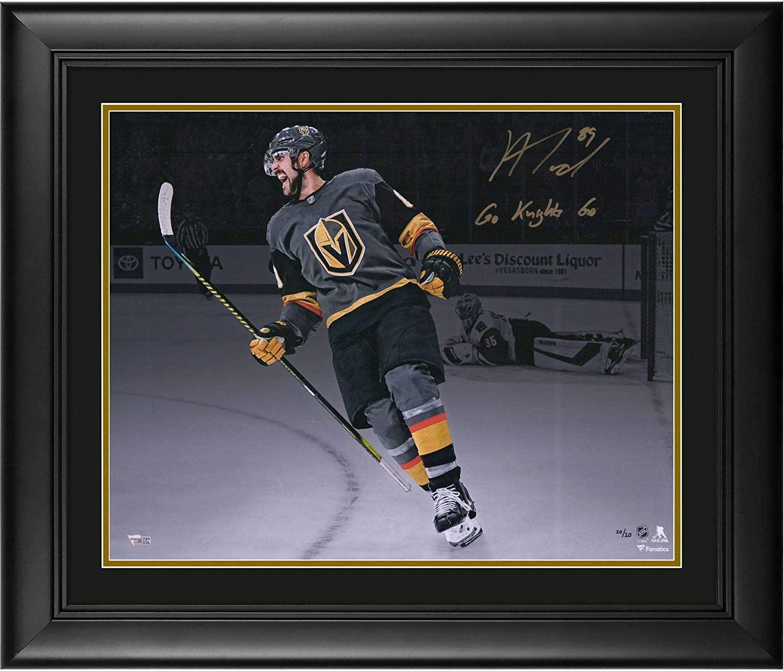 Alex Tuch Vegas Golden Knights Framed Autographed 16