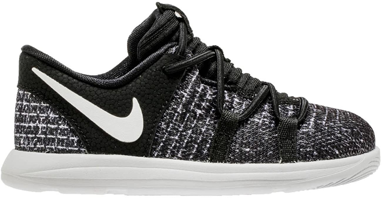 Nike KDX Boys' Toddler Basketball Shoes Black/White, 7