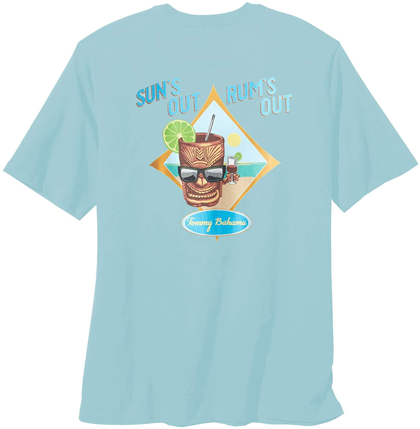 Tommy Bahama Suns Out Rums Out XXX-Large Opal T Shirt