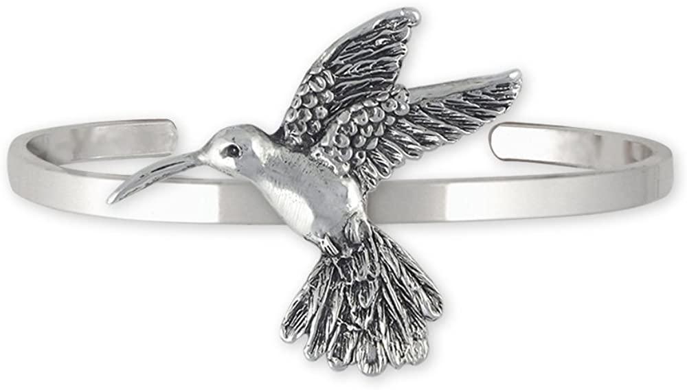 Esquivel and Fees Hummingbird Jewelry Sterling Silver Hummingbird Bracelet Handmade Bird Jewelry HM4-CB