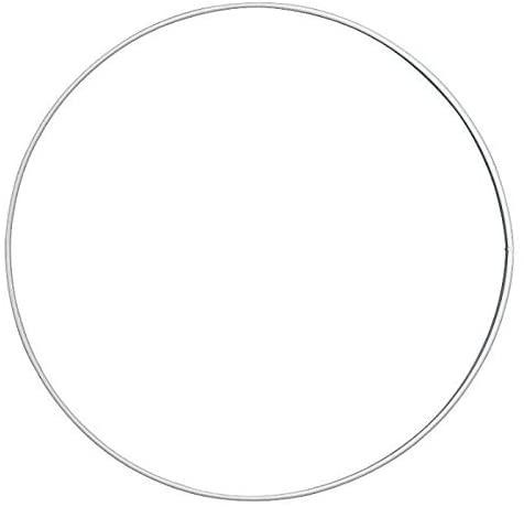 Circle Metal (10pcs) Smooth Diameter 15Cm, Knorr Prandell, Hobby Wires, Floristry, Colors, Decoupage