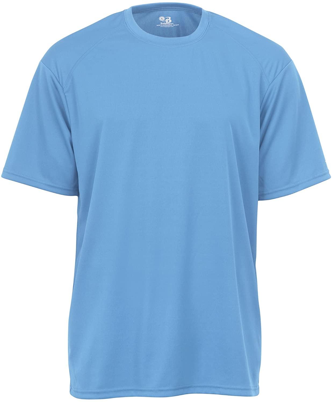 Badger Sportswear Men's B-Dry Tee, Columbia Blue, Medium