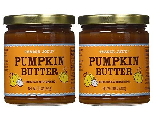 Trader Joe's Smooth, Sweet Fall Harvest Pumpkin Butter Spread - 2 Jars (20 oz)