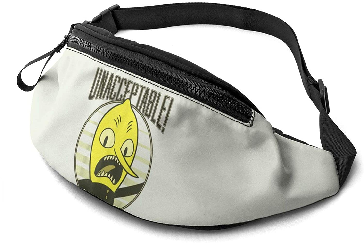 Atsh Lemongrab Waist Pack Bag Fanny Pack for Men Women Hip Bum Bag with Adjustable Strap Fashionable and Convenient