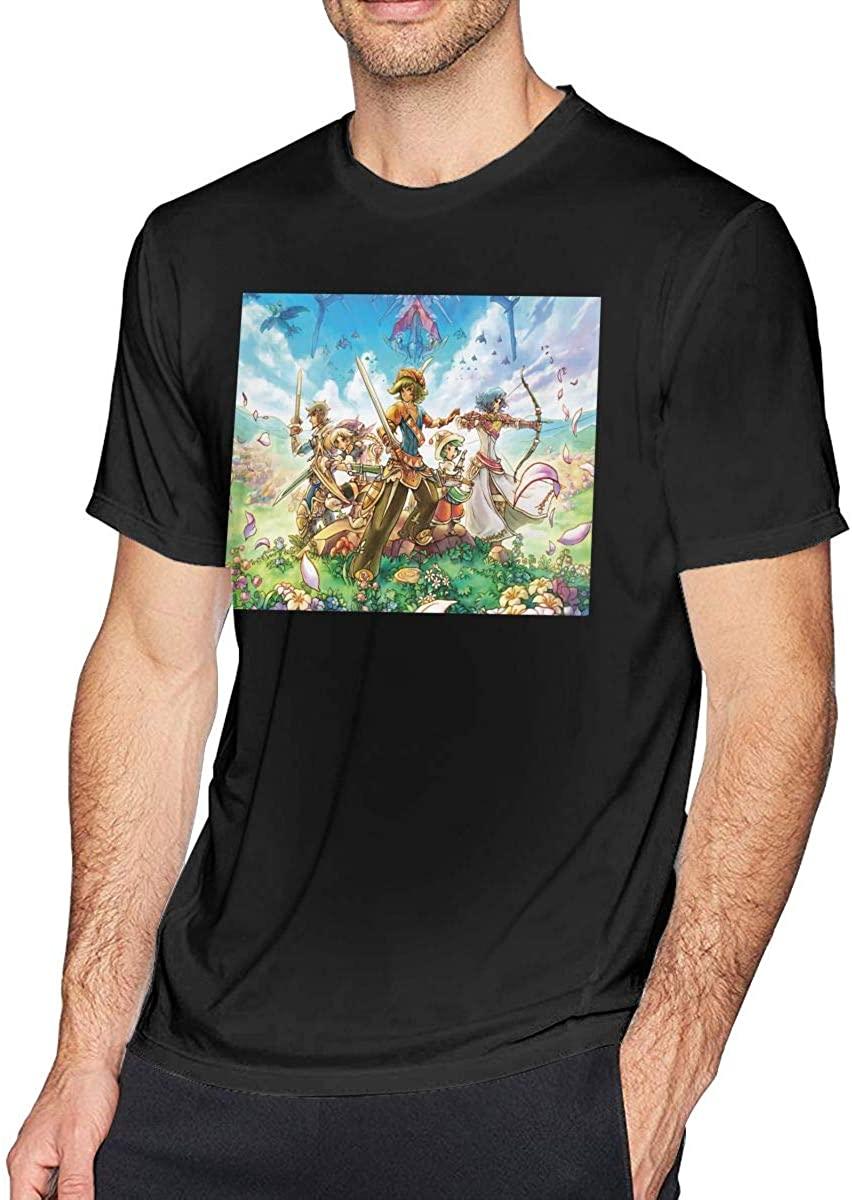 NOT Trias of Mana Fashion Customization Breathable Tee Men's Womens Short Sleeve T-Shirt