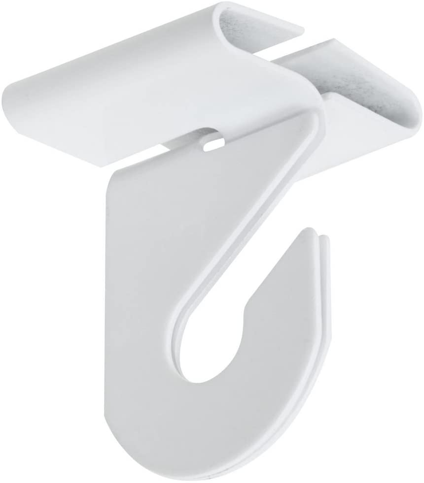 National Hardware N274-969 V2669 Suspended Ceiling Hooks in White, 2 pack