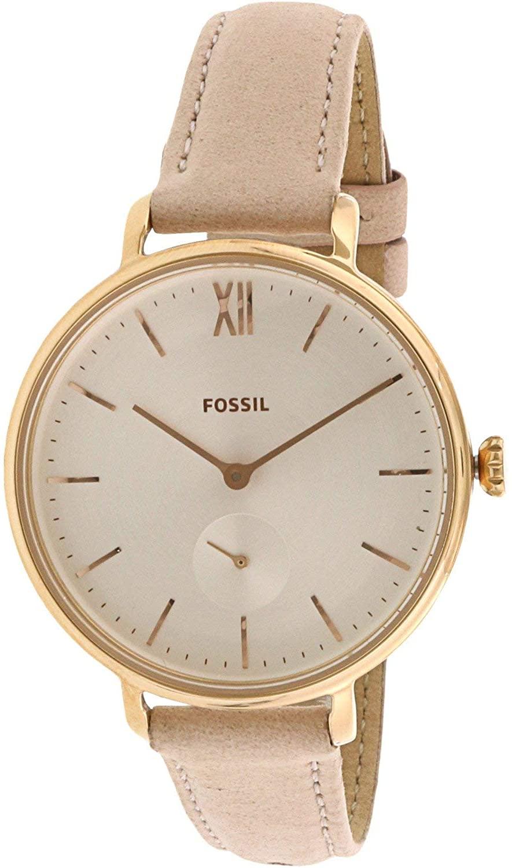 Fossil Women's Kayla ES4572 White Leather Quartz Fashion Watch