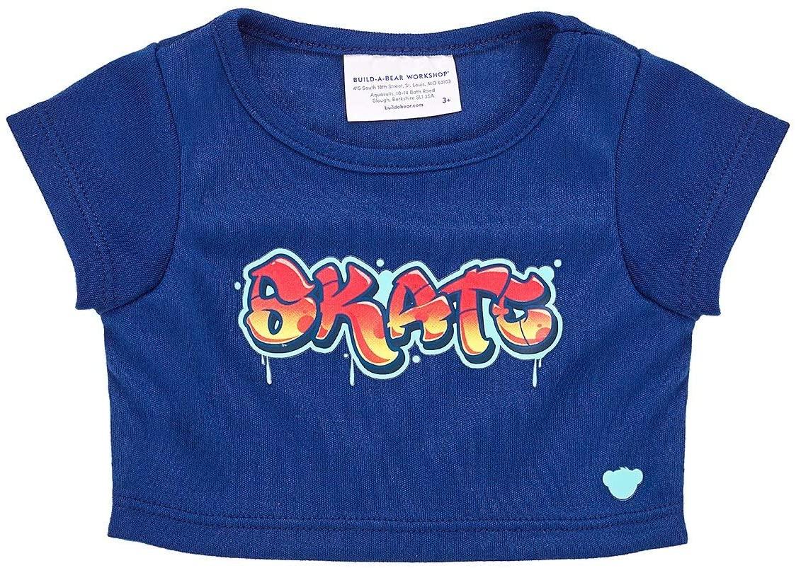 Build A Bear Workshop Online Exclusive Skate Graffiti T-Shirt