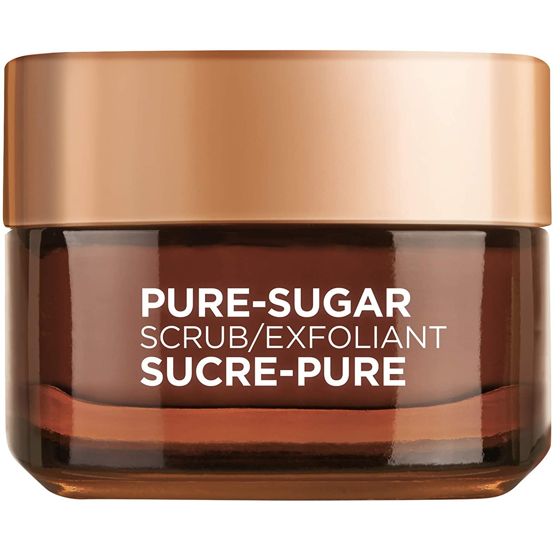 L'Oreal Paris Pure Sugar Scrub Nourish & Soften, 1.7 oz.