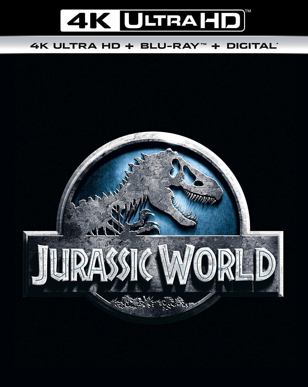 Jurassic World [4K + Blu-ray]