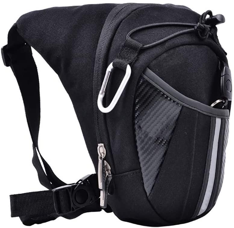 KoTag Mens Waist Bag Fanny Pack Drop Leg Bag Multifunctional Motorcycle Leg Bag for Motorcycle Hiking Trip Travel Fishing Tool Bag Thigh Bag Pouch Tactical Motorcycle Riding