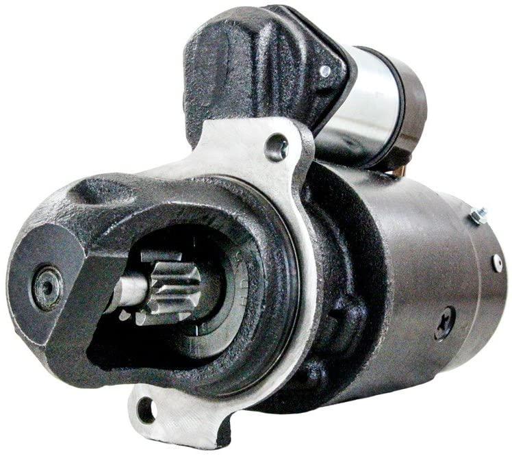 Rareelectrical NEW STARTER MOTOR COMPATIBLE WITH DROTT CRANE GO-DEVIL UC-263 ENGINE 1107350 AR11160