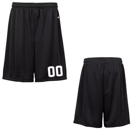 Black Adult XS Custom All Sports Shorts
