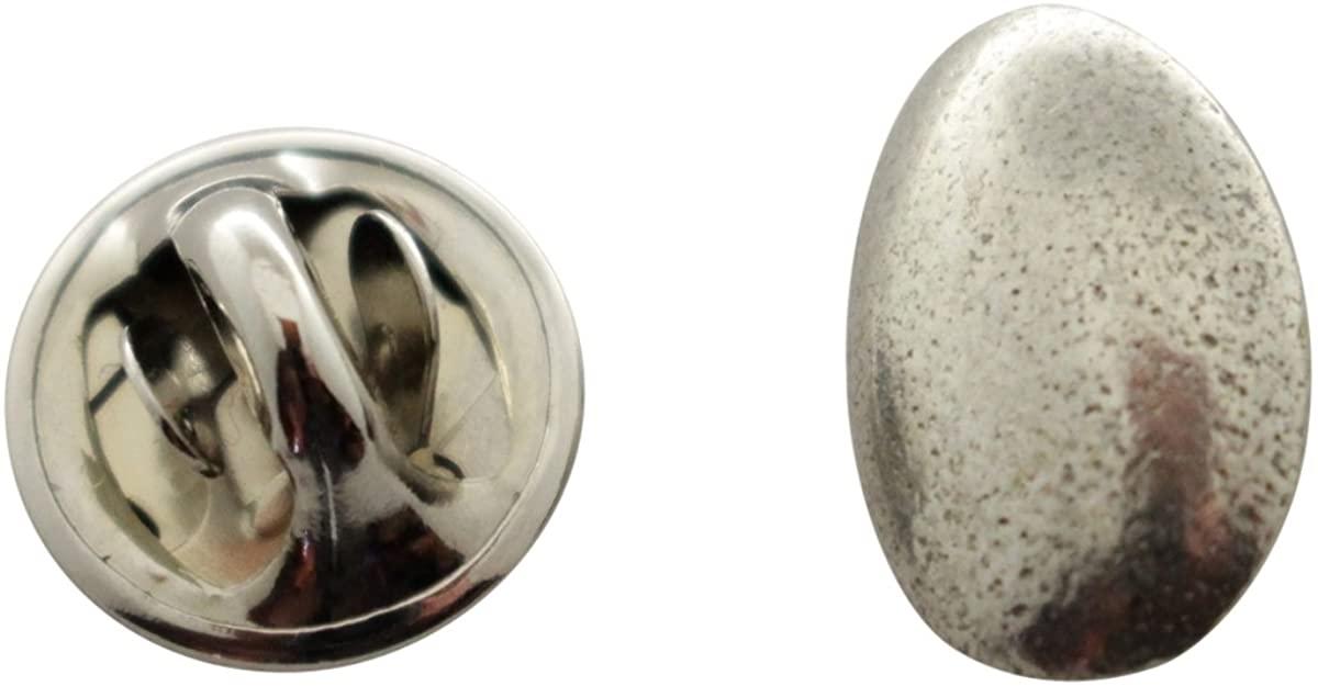 Sarah's Treats & Treasures Chicken Egg Mini Pin ~ Antiqued Pewter ~ Miniature Lapel Pin