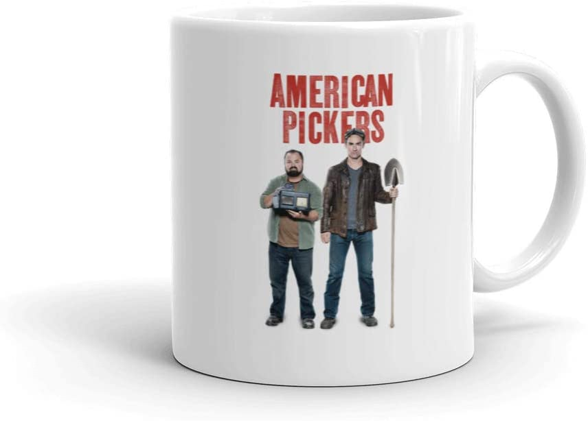 American Pickers Miks and Frank 11oz White Mug