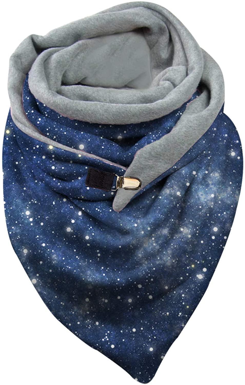 Unisex Printed Scarf Winter Big Wrap Warm Tartan Blanket Ladies Men English Scarf