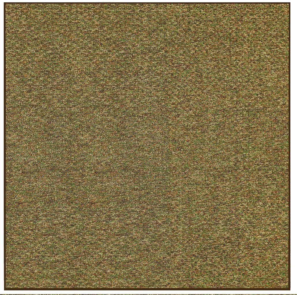 Outdoor Artificial Turf Camo Green Area Rugs with Premium Non Skid Backing Great for Decks, Patio's & Gazebo's to Pools, Docks & Boats and Other Outdoor Recreational Purposes 5' Square