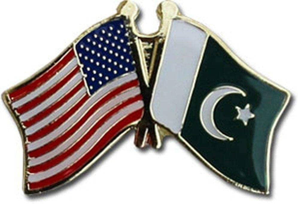 JumpingLight USA American Pakistan Friendship Flag Bike Motorcycle Hat Cap Lapel Pin - Quality Flags
