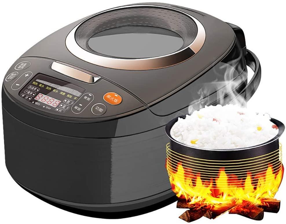 Rice Cooker 4L Household Smart Ceramic Liner Nonstick Pot Removable Easy Cleaning 4-6 People 220v