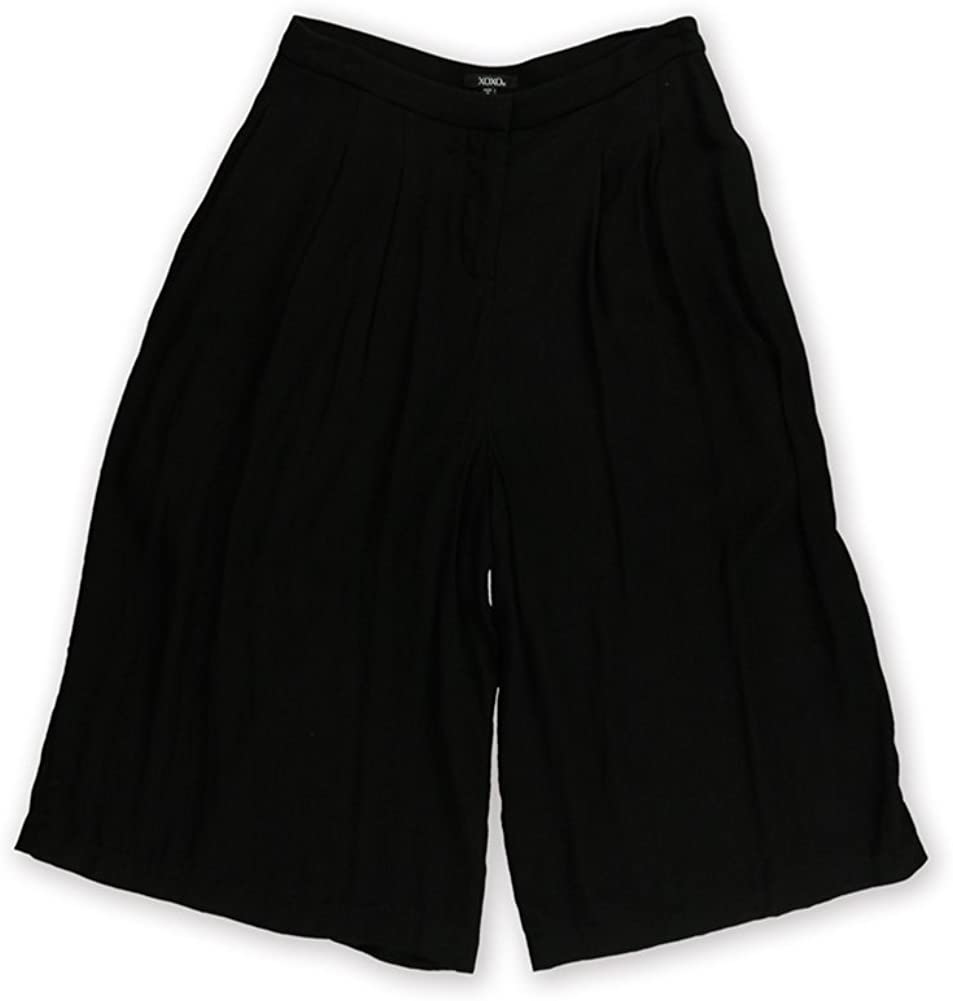 XOXO Womens Solid Culotte Dress Pants
