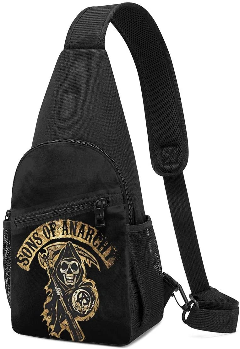 Sons of Anarchy Sling Bag Chest Bag Shoulder Backpack Cross Body