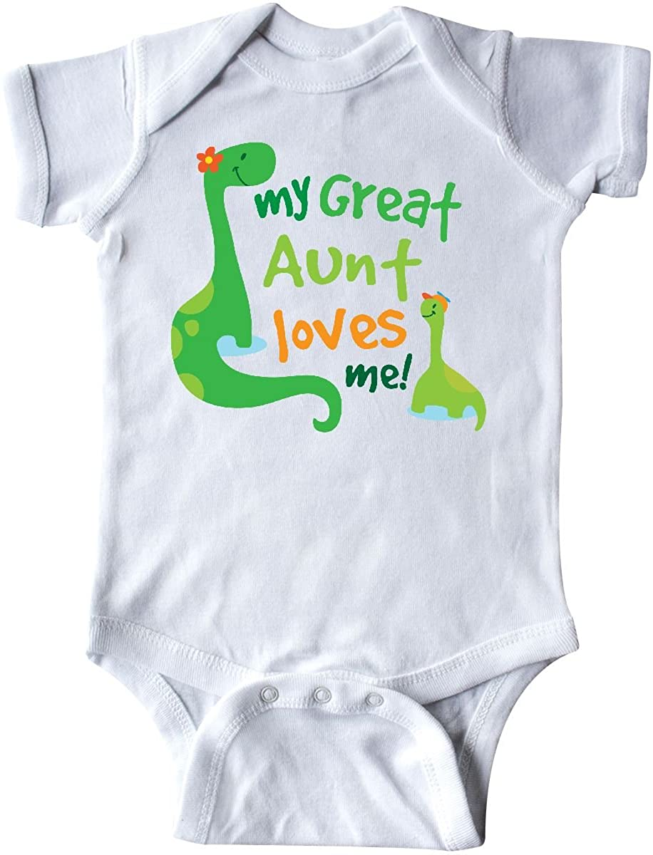 inktastic My Great Aunt Loves Me Infant Creeper