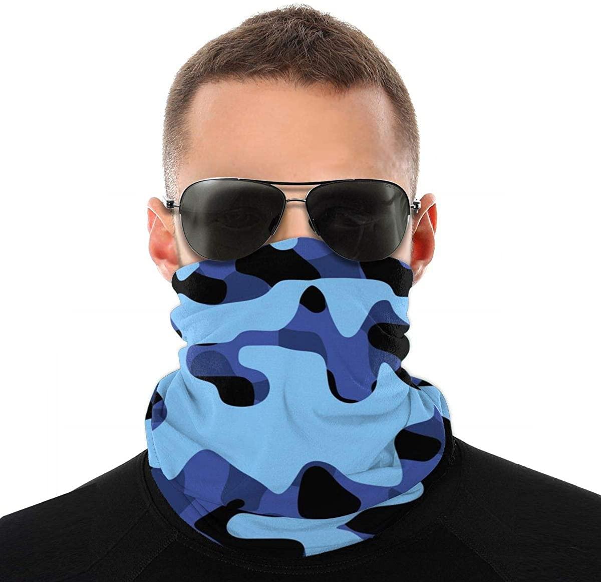 Multifunctional Neck Scarf Bandana Tube Mask For Workout Outdoor Sports
