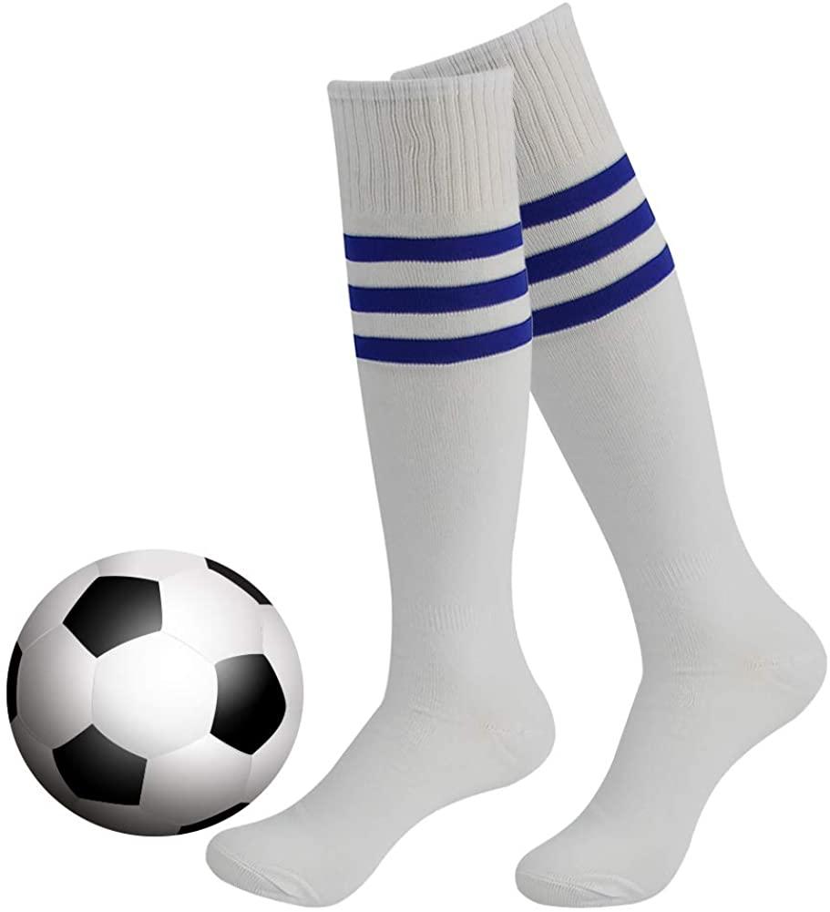 Stripe Tube Socks, DD DEMOISELLE Halloween Knee High Soccer Socks 2 Pairs